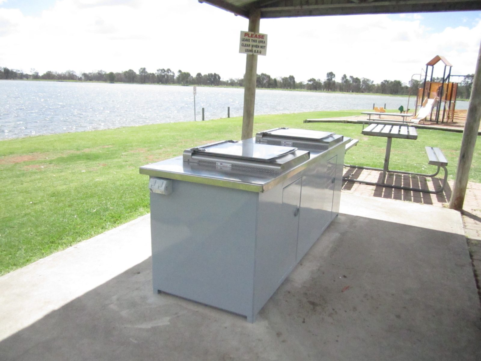 Free barbecues at Gum Bend Lake