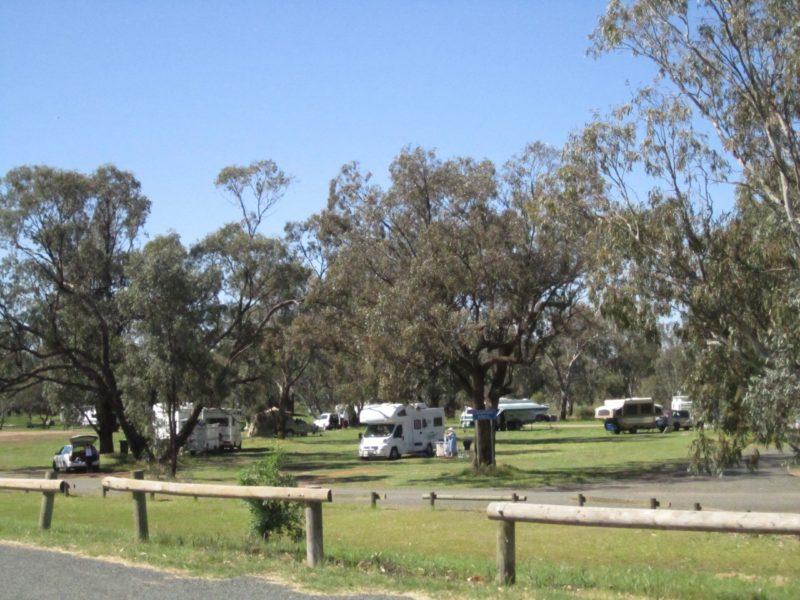 Free camping at Gum Bend Lake