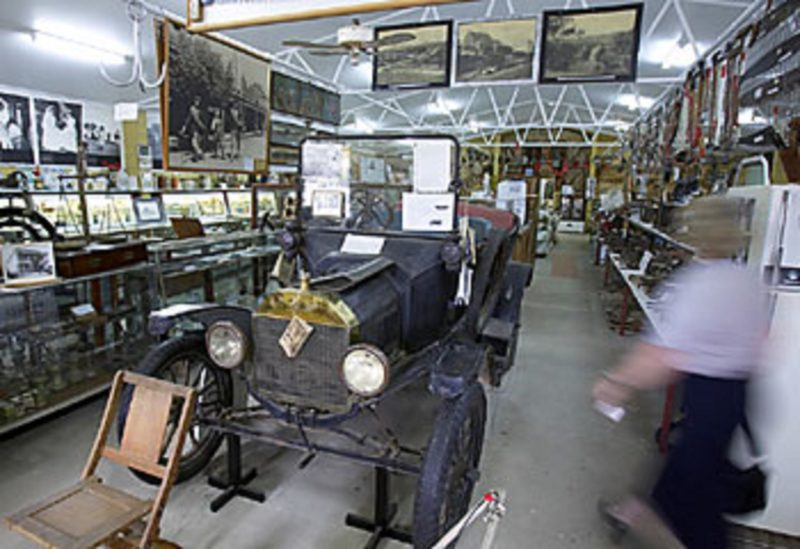 Model T Ford at Gundagai Museum