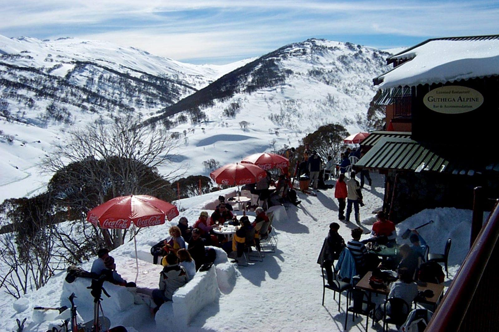 View from Guthega Alpine Hotel
