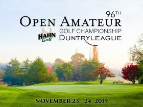 18th hole Duntryleague
