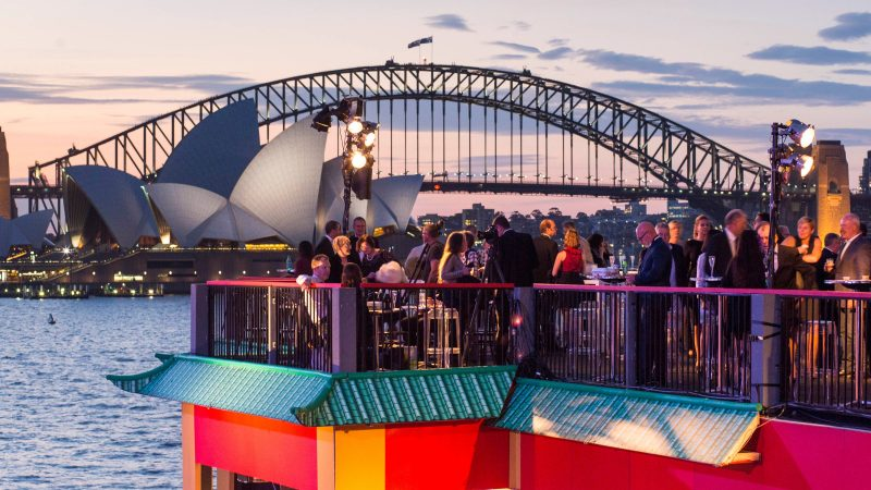 The restaurants at Handa Opera on Sydney Harbour