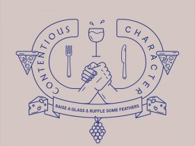 wine and food crest