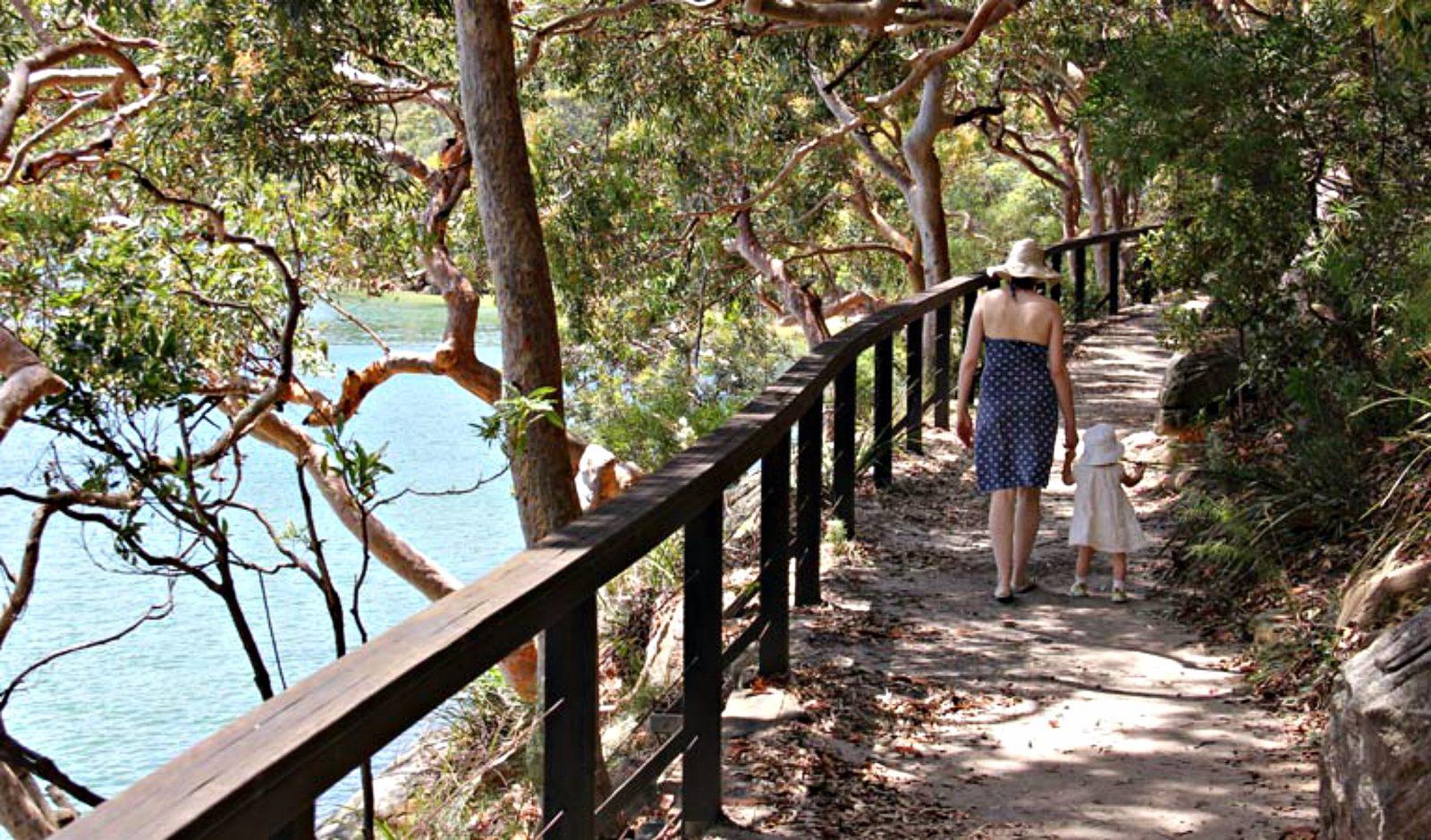 Harbour Bridge to The Spit Bridge walk, Sydney Harbour National Park. Photo: John Yurasek
