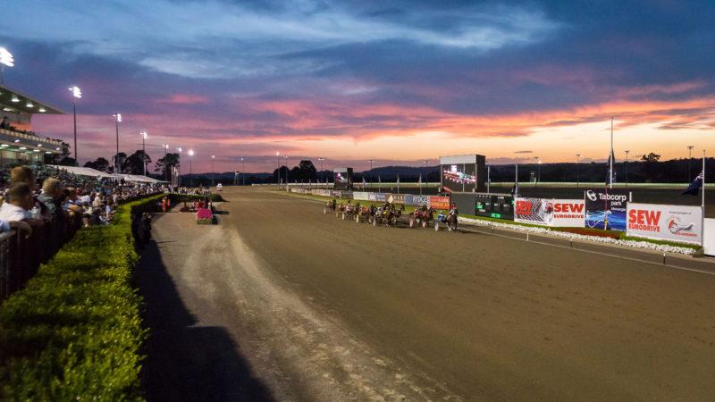 NSW Harness Racing - Club Menangle - Sunset