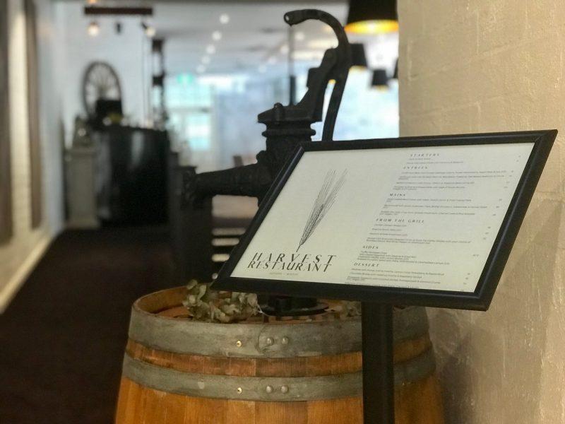 Harvest restaurant in windsor
