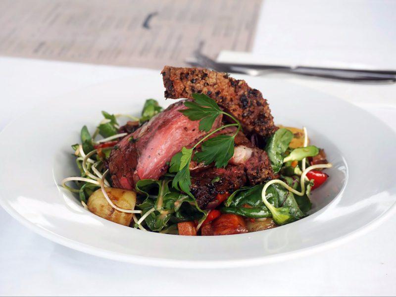 Delicious Roast Beef Salad - Harwood Island Hotel