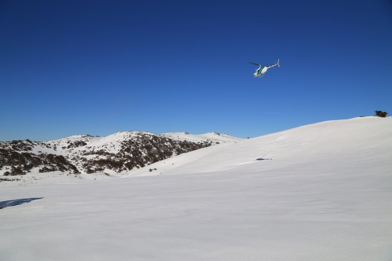 Scenic Flights around the snow covered mountains