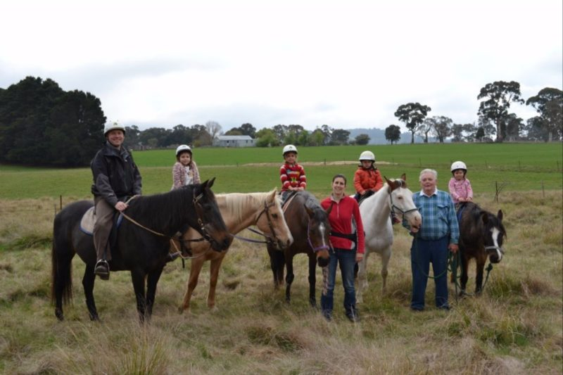 High Country Trail Rides, Oberon