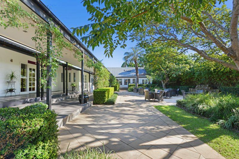 Perfect garden setting for High Tea