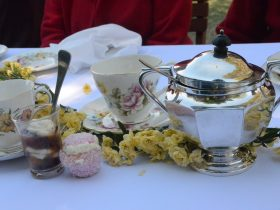 Fine china and period service all add to the delight of the day