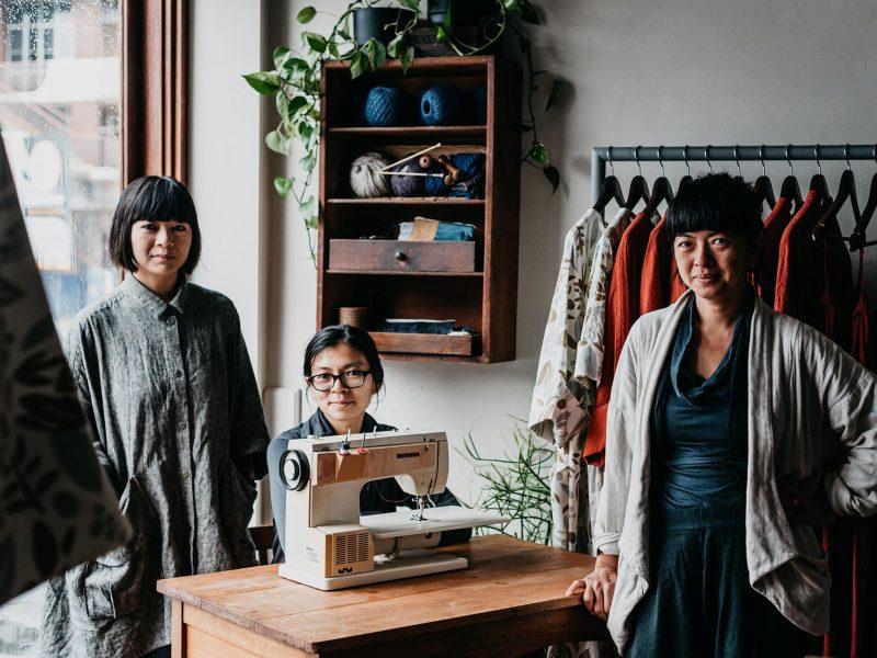 High Tea with Mrs Woo - Juliana, Angela and Rowena Foong creative sister designers owners