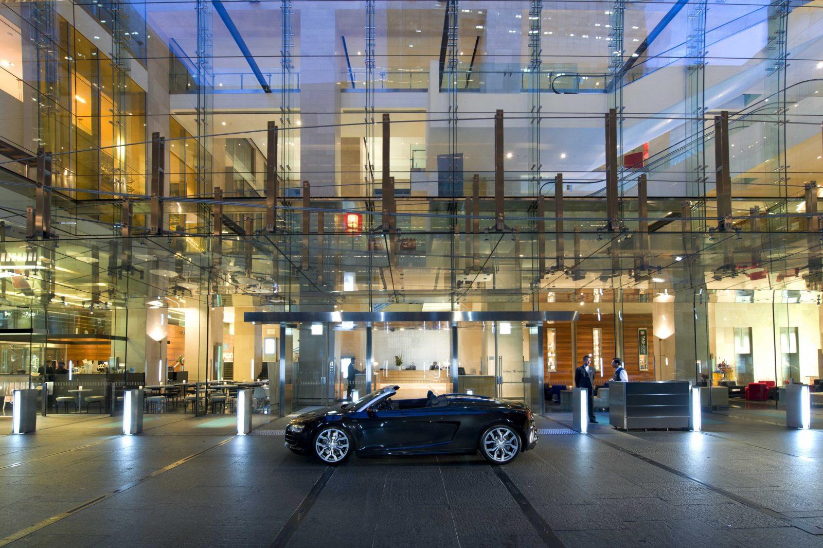 Hilton Sydney entrance