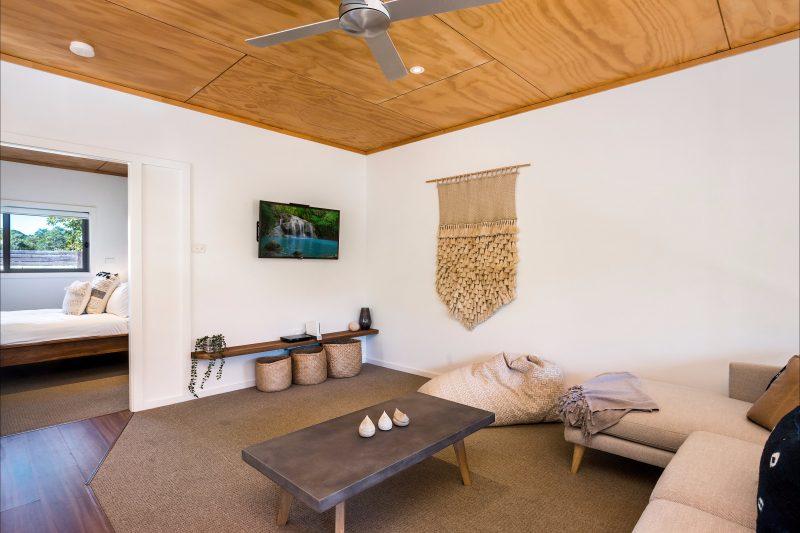 Hinterland Harmony - Lounge area in studio