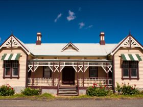 Historic Railway Station in Grenfell NSW