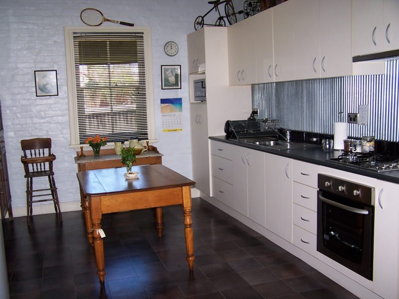Great kitchen adjacent to the dining room