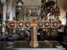 Australian beer available on tap at Hotel Palisade