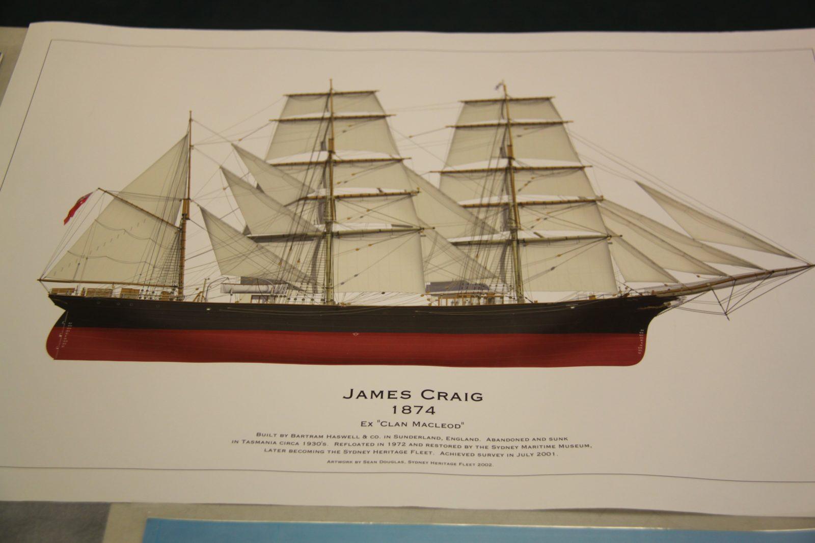 Tall Sailing shipJames Craig