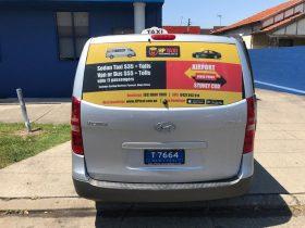 Maxi Cab Signage