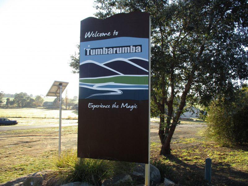 Tumbarumba, 9 kms south to Henry Angel