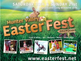 Roll up!! Roll up!! for the greatest show in the Hunter Valley!! Easter Fest 2019