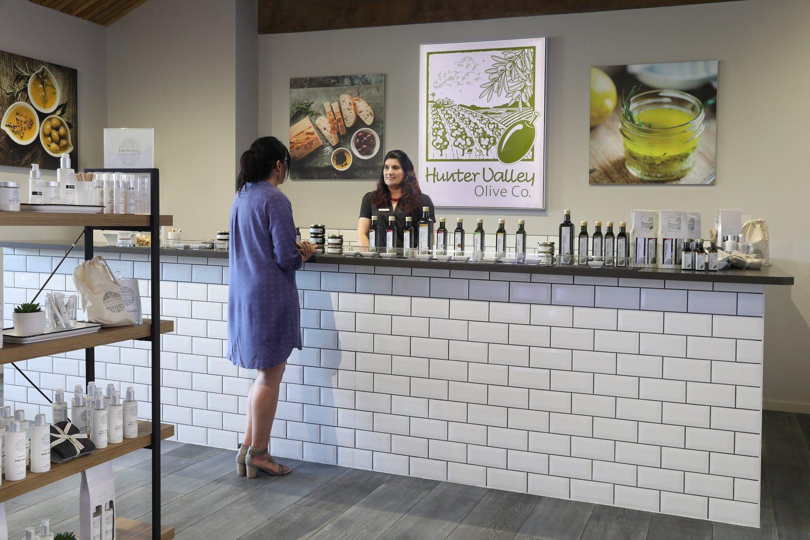 Hunter Valley Olive Co. tasting