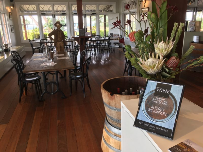 Audrey Wilkinson award winning winery