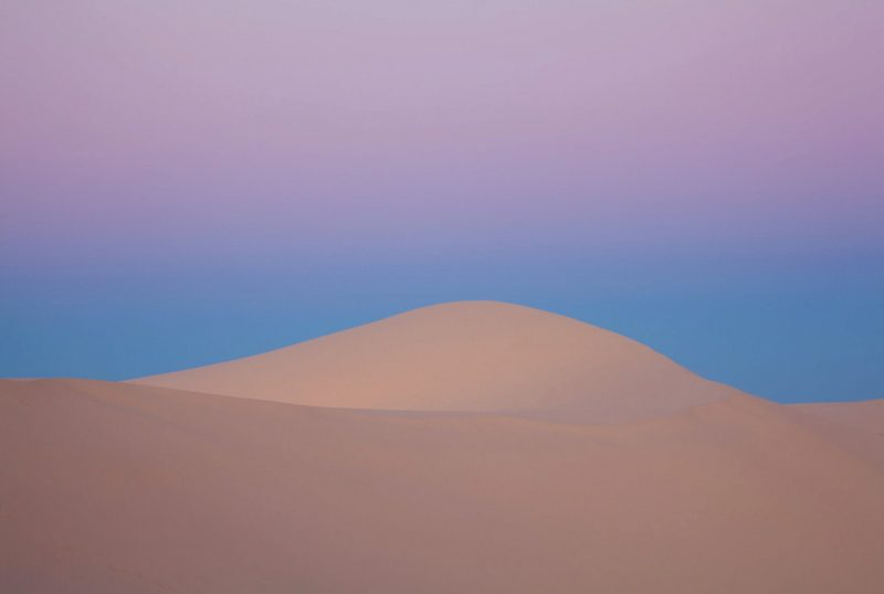 Implicity - Desert Sand Dune by Ian Brown