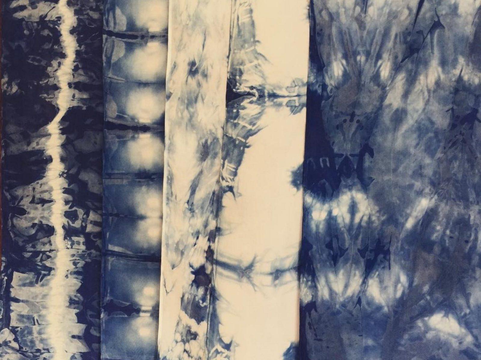 Indigo Shibori Dyeing Workshop Jervis Bay Helena Geiger