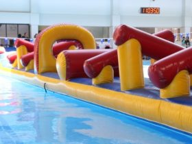 Inflatable pool gadgets