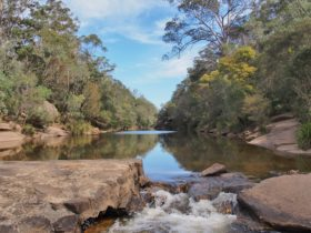 Ingleburn Weir Waterway