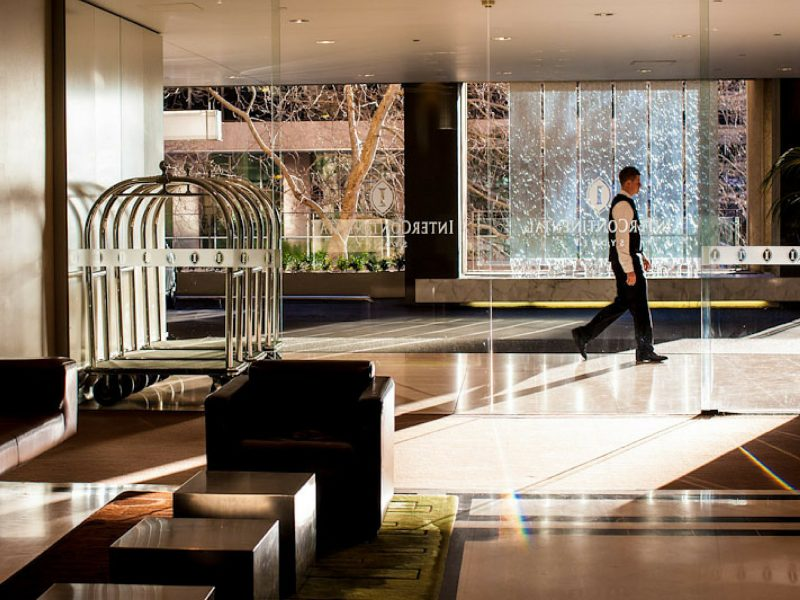 InterContinental Sydney lobby
