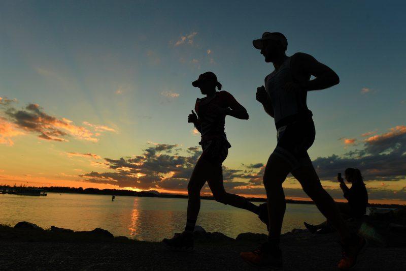 IRONMAN Australia at Sunset