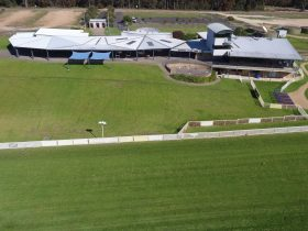 A Drones View of the Sapphire Coast Turf Club
