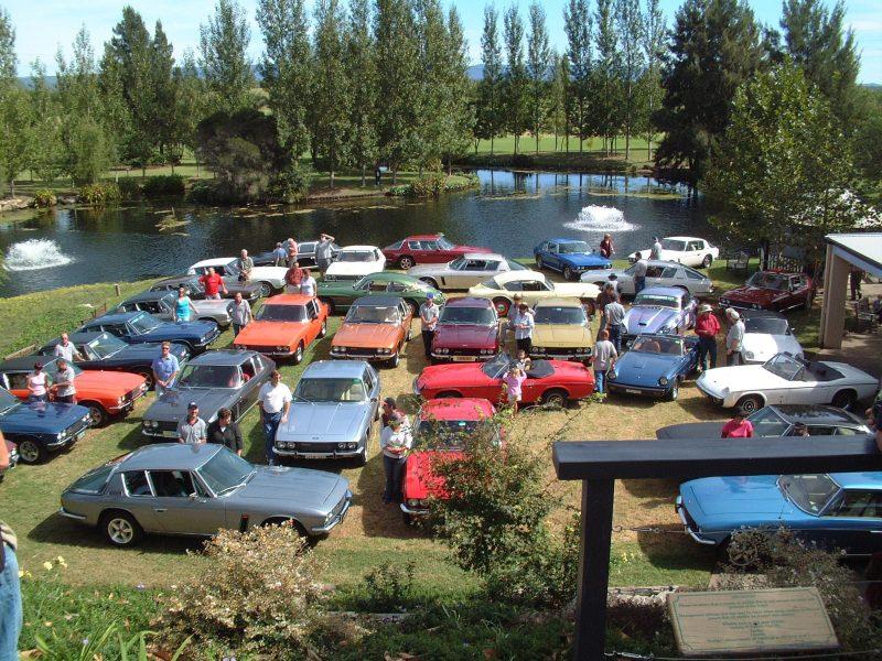 Jensen Car Club group cars