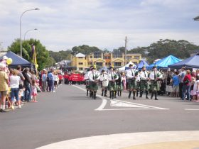 White Sands Festival Parade in Huskisson