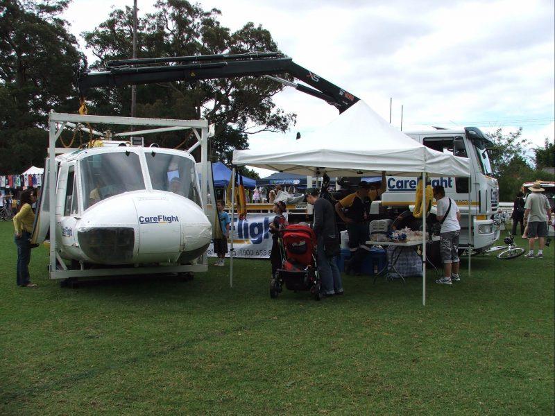 Careflight Helicopter