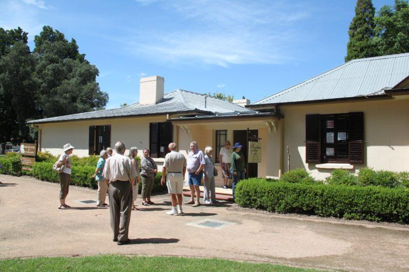 Hambledon Cottage main entrance welcomes visitors