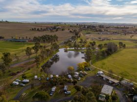 View over the Junee Tourist Park