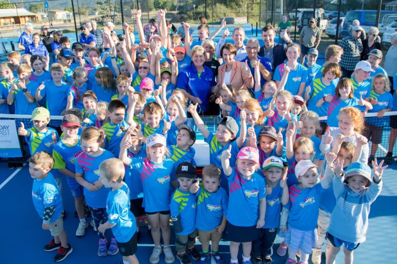Opening Mini Courts