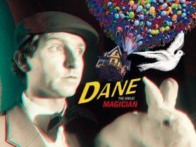 The Great Dane magician