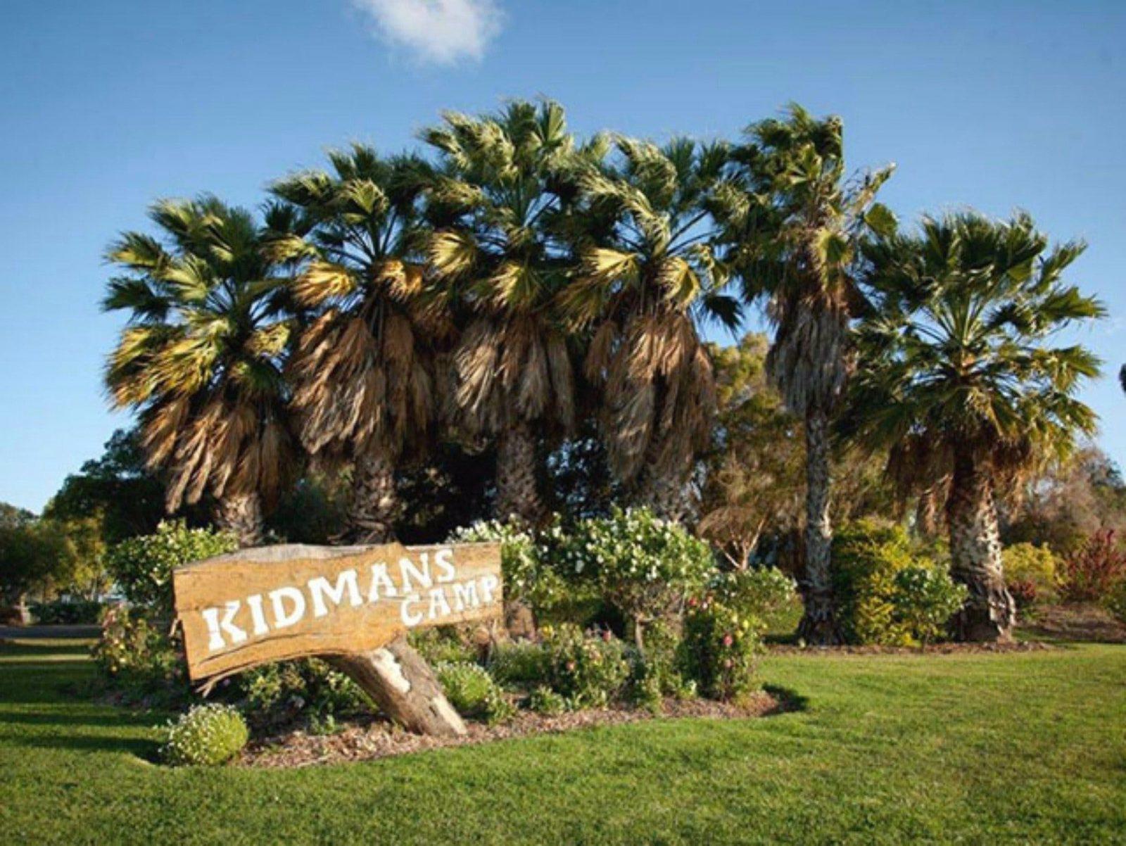 Kidmans Camp entry sign