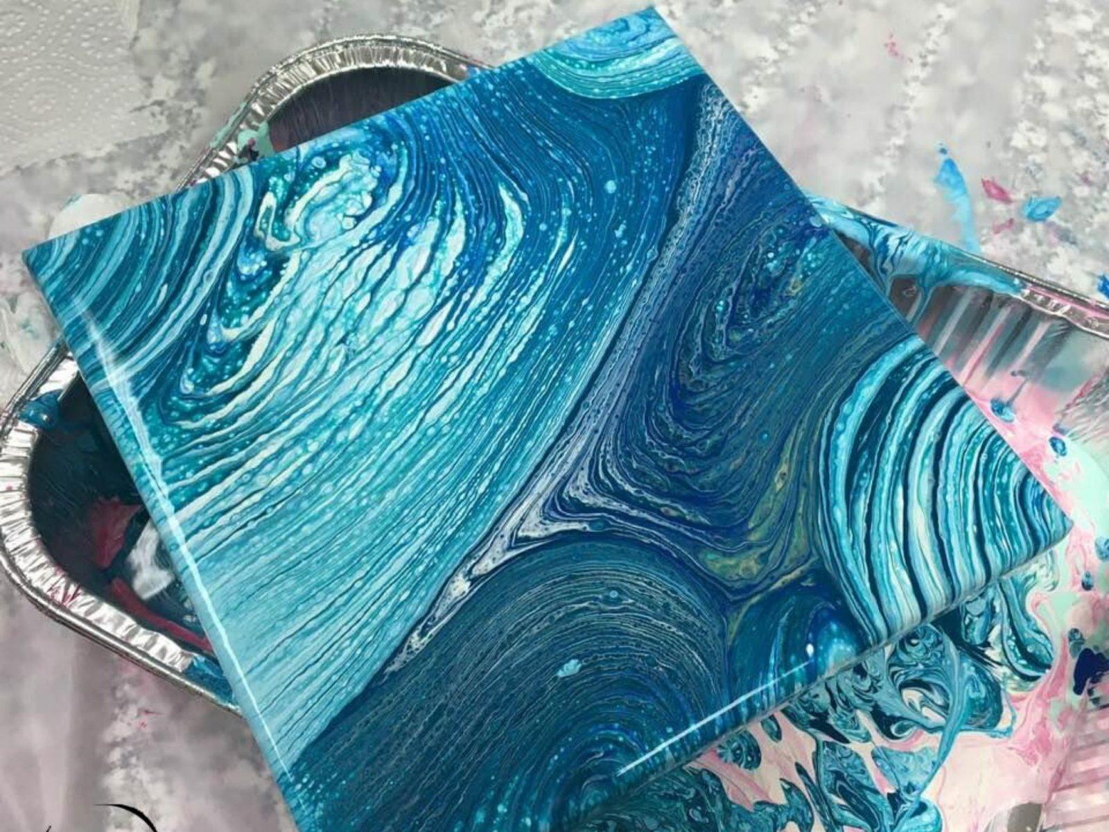 Kids Workshop Children Workshop Jervis Bay Huskisson Paint Pouring Le Workshop