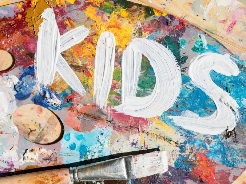 Kids Workshop: Acrylic Paint Pouring in Jervis Bay Le Workshop