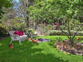 delightful garden setting