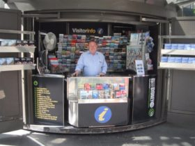 Kings Cross Visitor Information Kiosk