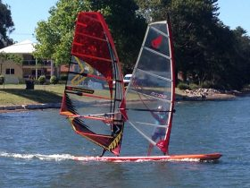 Tandem SUP/Windsurf