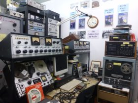 Broadcasting Studio with 2 AWA BAC-1 mixers