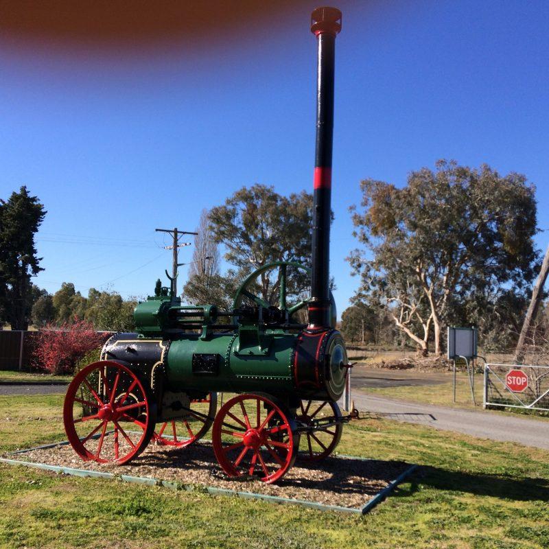Industrial steam engine Cowra