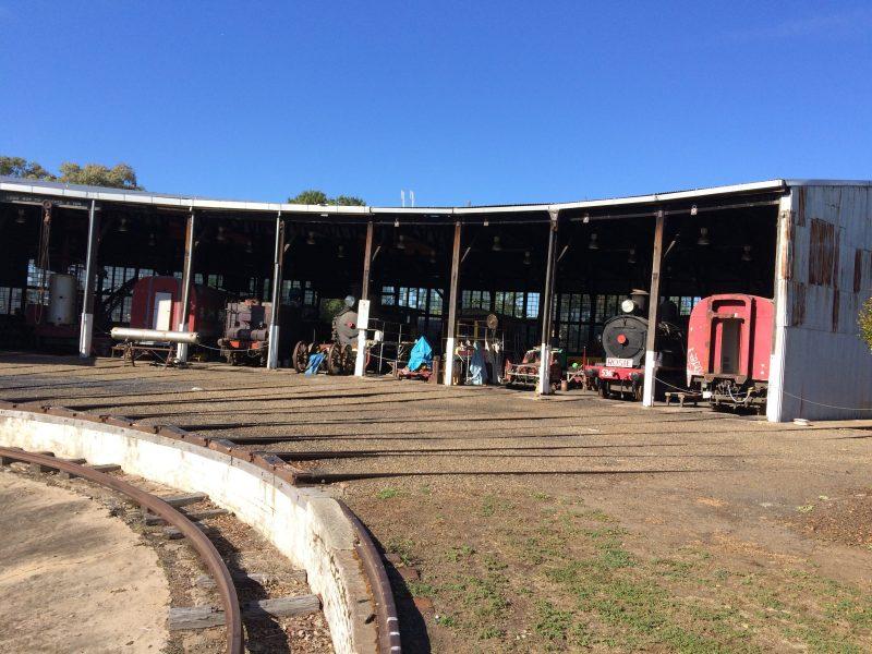 Cowra loco Depot